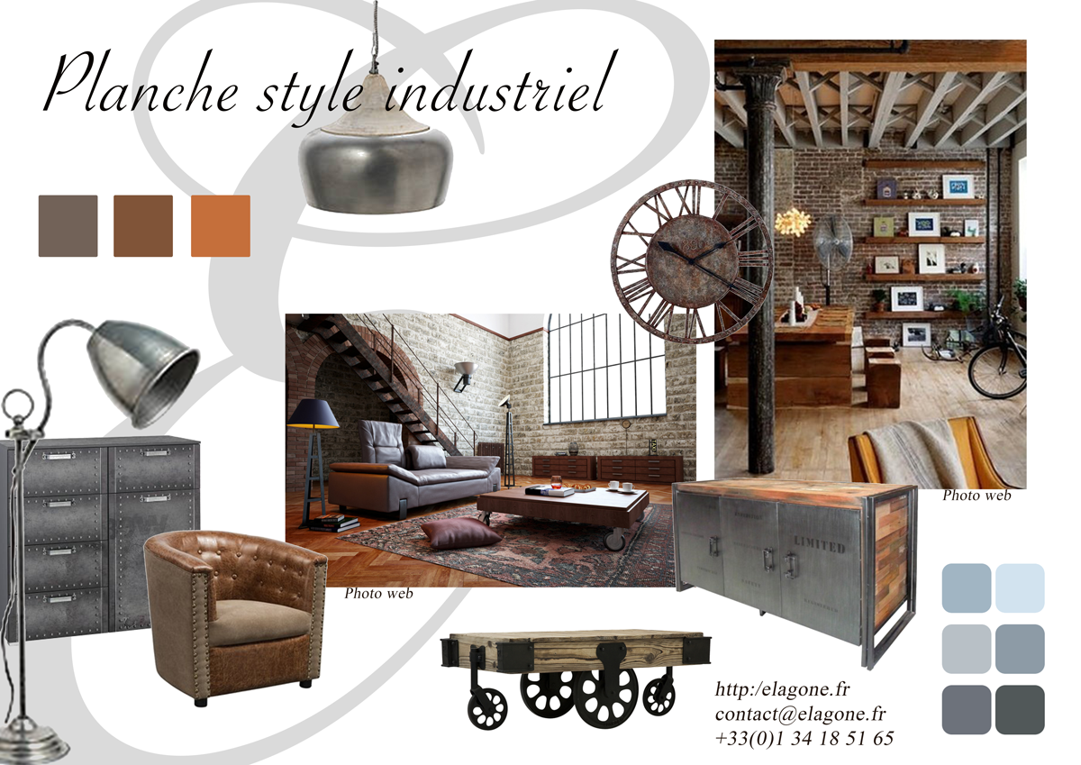 Zoom sur une inspiration d co industrielle architecte d for Style de deco interieur